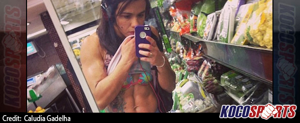 UFC's Claudia Gadelha promises improved abdominal definition in time for next fight