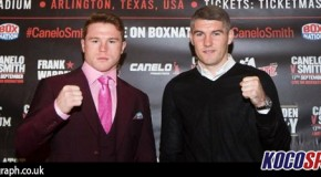 """The UK's Liam Smith is ready to make name for himself in the Cowboys Stadium, against Saul """"Canelo"""" Alvarez"""