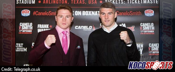 "The UK's Liam Smith is ready to make name for himself in the Cowboys Stadium, against Saul ""Canelo"" Alvarez"