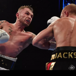 Carl Frampton stops Luke Jackson with a dominating performance in Belfast