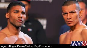 Golden Boy Boxing results – 05/05/17 -(Castellanos outclasses Gamboa forcing him to quit on his stool)