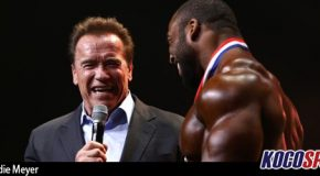 Video: Cedric McMillan opens up following his monumental win at the 2017 Arnold Classic