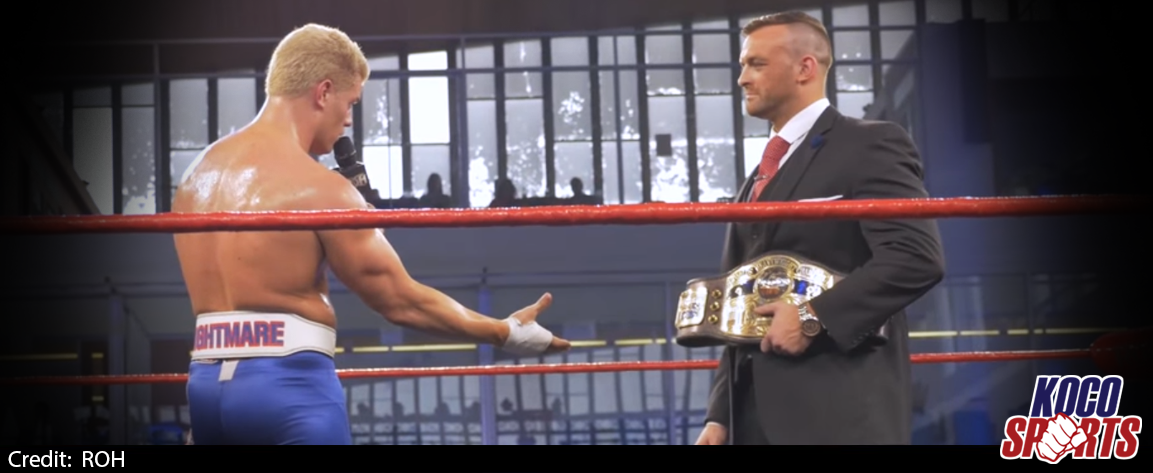 "Video: If Cody Rhodes wins the ROH world title, he will receive an NWA title shot at ""All In"""