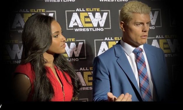 Cody & Brandi Rhodes comment on WWE turning away fans wearing AEW shirts