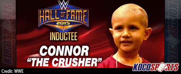 Video: Connor Michalek to receive first-ever Warrior Award at the WWE Hall of Fame 2015