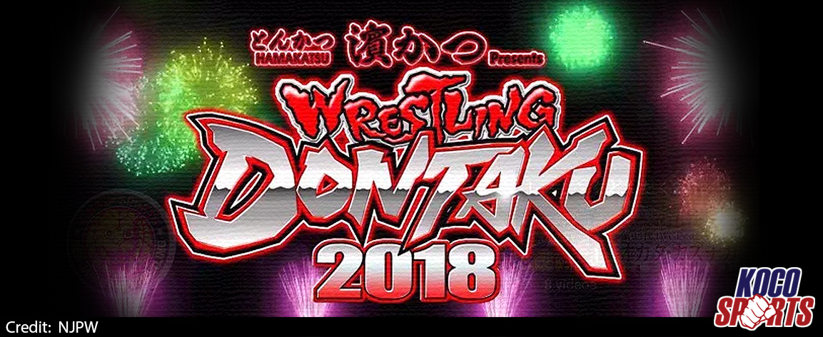 Video: NJPW Wrestling Dontaku – 05/03/18 – (Full Show)