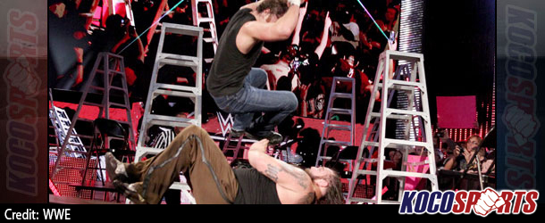 "WWE ""Tables, Ladders, Chairs & Stairs"" results – 12/14/14 – (Ziggler wins IC title; Wyatt beats Ambrose; Cena victorious!)"