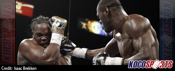 Deontay Wilder defeats Bermane Stiverne to bring the WBC heavyweight title back to the U.S.