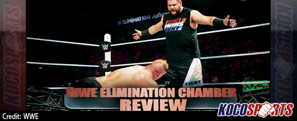 "Podcast: Koco's Corner – ""WWE Elimination Chamber"" review – 05/31/15 – (Fight Owens Fight)"