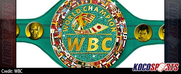 WBC emerald title belt worth $1,000,000 will be on the line when Mayweather faces Pacquiao
