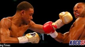 Errol Spence Jr. knocks out Kell Brook to win IBF World Welterweight Championship