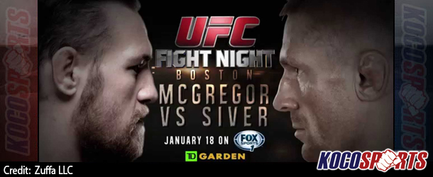"Video: Breaking coverage of UFC Fight Night 59 – ""Boston"" – 01/18/15 – (Live @ 6PM EST / 11PM GMT)"