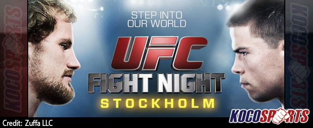 Video: Breaking coverage of UFC Fight Night 53 – 10/04/14 – (Live @ 3PM EST / 7PM GMT)