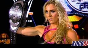 "WWE Divas Champion, Charlotte Flair, reveals her cover shot for the latest edition of ""Muscle and Fitness Hers"" magazine"