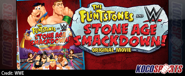 """WWE comes to Bedrock in """"The Flintstones and WWE: Stone Age Smackdown"""""""