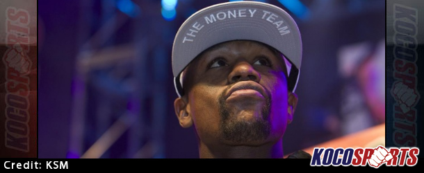 Video: Floyd Mayweather Jr. makes his grand arrival at the MGM Grand in Las Vegas