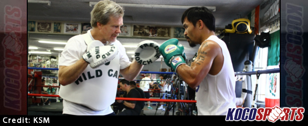 Legendary coach Freddie Roach voiced his disgust with Mayweather over the handling of his media workout