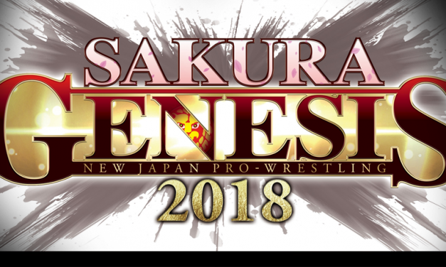 NJPW Sakura Genesis results – 04/01/18 – (Okada retains IWGP title over Sabre Jr.)