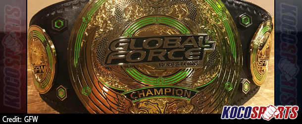 Global Force Wrestling release images of their World, Women's, Next-Gen & Tag Team championship title belts
