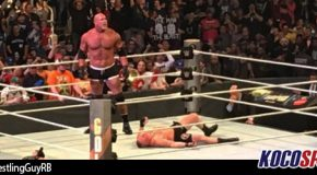 WWE Survivor Series results – 11/20/16 – (Bill Goldberg demolishes Brock Lesnar in Main Event!)