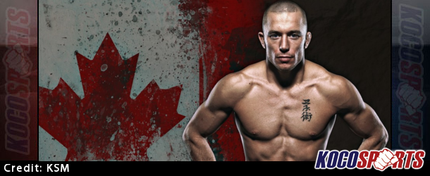 Former UFC Welterweight Champion Georges St. Pierre is itching to get back into the octagon