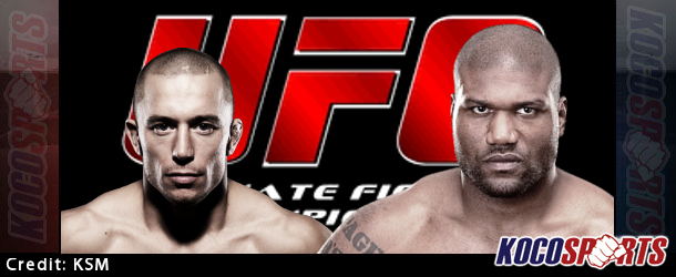 """Former UFC Welterweight Champion Georges St. Pierre is teasing a return, and updates on the status of """"Rampage"""" appearing at UFC 186"""