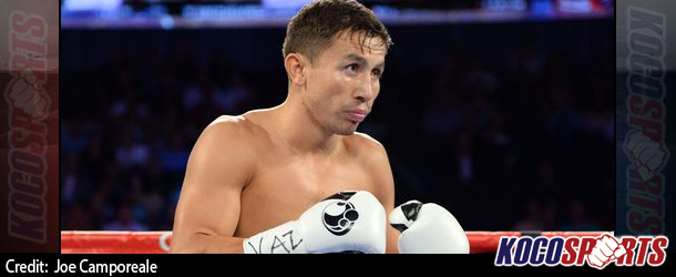 WBA middleweight champ, Gennady Golovkin, wants 4 fights in 2015