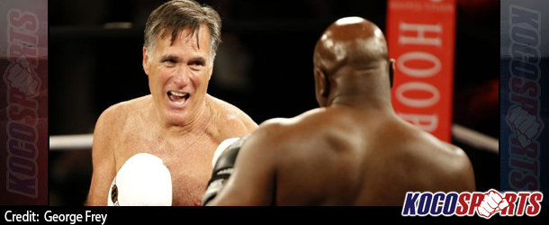 "Mitt ""Stormin Mormon"" Romney survives Evander Holyfield dust-up"
