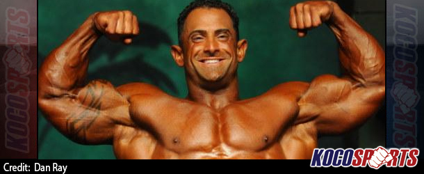 Video: Guy Cisternino trains arms in preperation from the 2014 Olympia