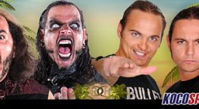 "The Broken Hardys will wrestle The Young Bucks at the ""ROH Supercard of Honor XI"" event"
