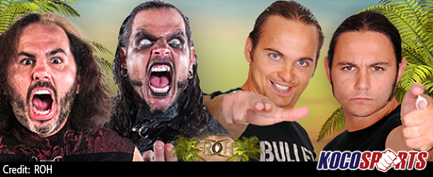 """The Broken Hardys will wrestle The Young Bucks at the """"ROH Supercard of Honor XI"""" event"""