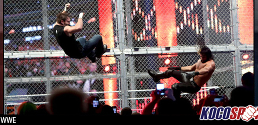 "WWE Hell in a Cell – ""Detailed Results"" – 10/26/14 – (Rollins beats Ambrose with help from Wyatt; Cena defeats Orton)"