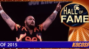 Bam Bam Bigelow inducted into the Kocosports Combat Sports Hall of Fame