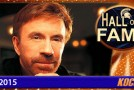 Chuck Norris inducted into the Kocosports Combat Sports Hall of Fame