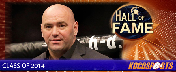 Dana White inducted into the Kocosports Combat Sports Hall of Fame