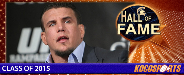 Frank Mir inducted into the Kocosports Combat Sports Hall of Fame