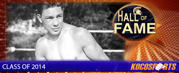 Harry Greb inducted into the Kocosports Combat Sports Hall of Fame