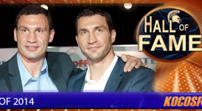 Klitschko Brothers inducted into the Kocosports Combat Sports Hall of Fame