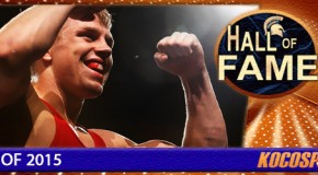 Kyle Dake inducted into the Kocosports Combat Sports Hall of Fame