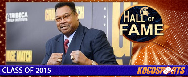 Larry Holmes inducted into the Kocosports Combat Sports Hall of Fame