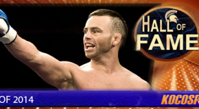 Jens Pulver inducted into the Kocosports Combat Sports Hall of Fame
