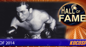 Barney Ross inducted into the Kocosports Combat Sports Hall of Fame