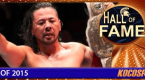 Shinsuke Nakamura inducted into the Kocosports Combat Sports Hall of Fame