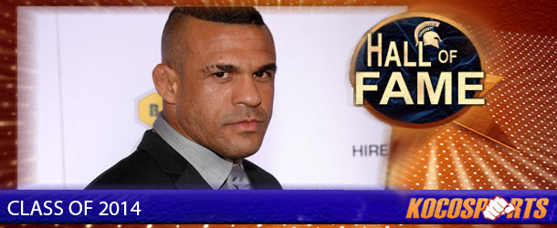 Vitor Belfort inducted into the Kocosports Combat Sports Hall of Fame