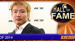 Takanori Gomi inducted into the Kocosports Combat Sports Hall of Fame