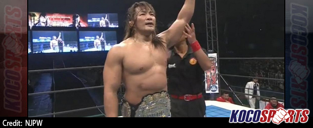 NJPW Wrestle Kingdom 9 results – 01/04/14 – (Tanahashi & Nakamura both retain; New Junior Heavy & Openweight Champs crowned)
