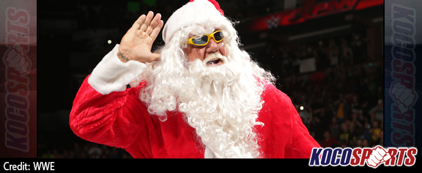 Video: WWE Monday Night Raw Coverage – 12/22/14 – (Ho Ho Hogan kicks off Raw's Christmas festivities)