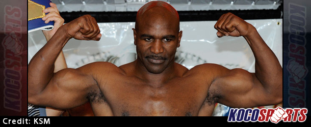 Mitt Romney vs. Evander Holyfield charity fight is a lock to take place this May