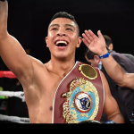 Jaime Munguia says he's defending his WBO world title against Takeshi Inoue in 2019
