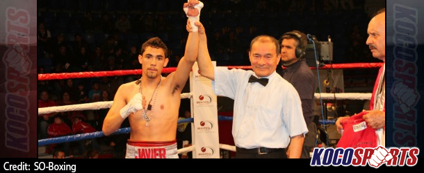 Javier Mendoza drops Ramon Garcia twice onroute to winning IBF junior flyweight title
